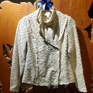 Cabi beige sweater jacket